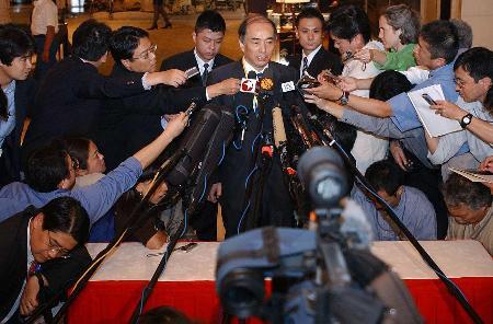 图文:日本代表团暗示会谈出现了新的变化