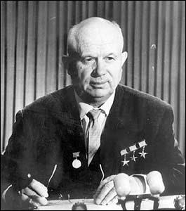 前苏联领导人赫鲁晓夫执政时期的苏联航天