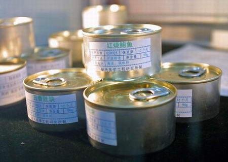 图文:红烧鲍鱼罐头