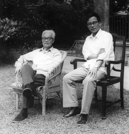 图文:巴金与李舒