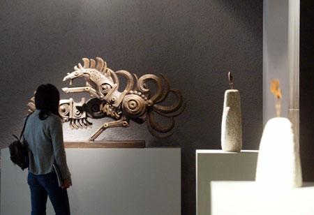 图文:韩美林艺术馆杭州浪漫开馆