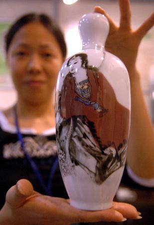 图文:西湖艺术博览会开幕(2)