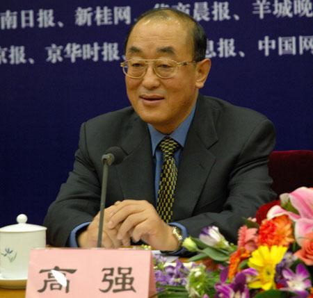 图文:卫生部部长高强出席中国全面小康论坛
