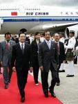 图文:温家宝抵达马来西亚