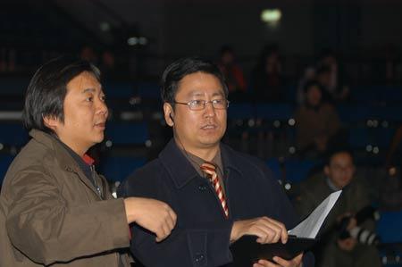 组图:感动中国节目组工作人员
