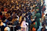 图文:西安开设学生火车票大卖场