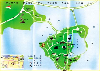 武汉动物园因经济纠纷封园(组图)