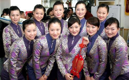组图:厦航公布两岸春节包机客舱服务安排
