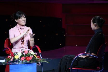 组图:感动中国获奖者邰丽华