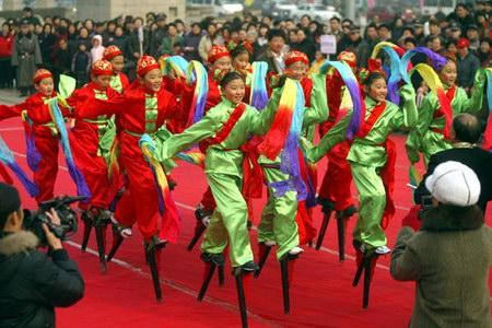 图文:北京风情舞动悉尼表演团悉尼归来汇演
