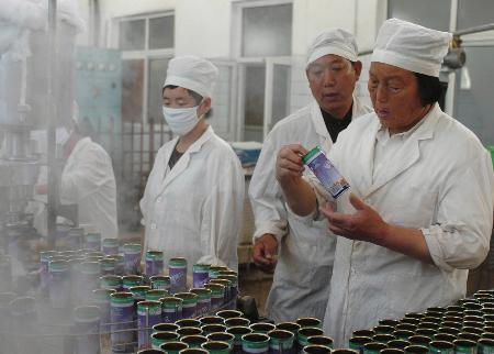 图文:申纪兰代表谈新农村建设