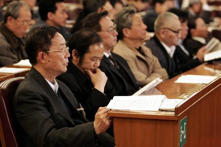 图文:全国政协举行第三次全体会议
