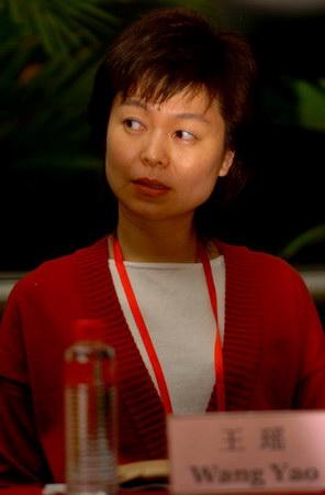 图文:第二届华赛评委王瑶