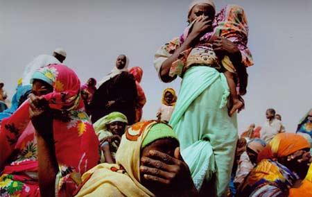 非突发性重大新闻类组照自12月3日以来,金奖:非洲难民营