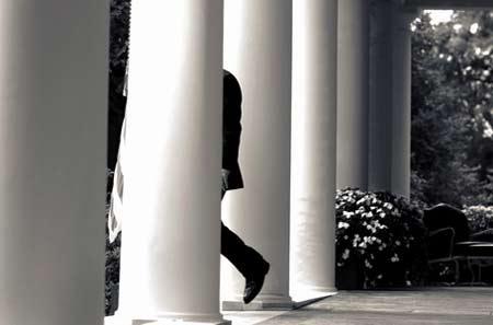 组图:美国总统的风采(新闻人物组图类铜奖)