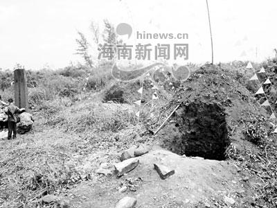 明朝进士郑廷鹄古墓被盗挖(组图)