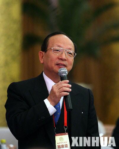 图文:蒋孝严先生在论坛上发言
