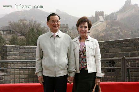 福建省委书记卢展工会见连战(组图)
