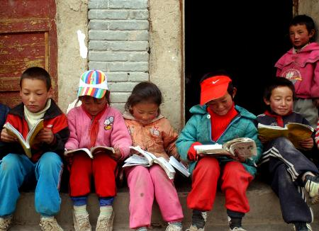 甘南藏区的寄宿学校 4