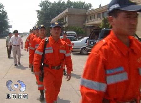 中国国际救援队活跃在印尼(组图)