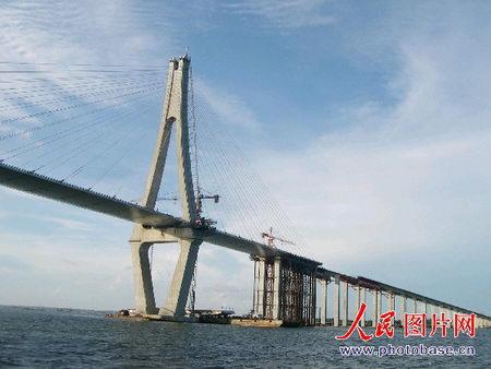 广东/广东第一桥——湛江海湾大桥雄姿