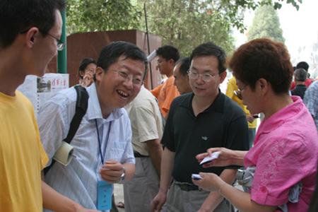 宁夏2006年高校招生咨询会(组图)