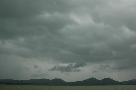 图文:台风桑美抵达杭州带来狂风大雨