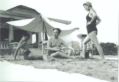 图文:毛泽东和女儿李纳李敏侄子和谐包容、毛远新