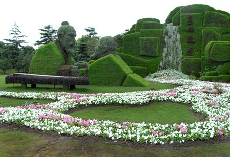 组图:2006上海国际立体花坛大赛揭幕