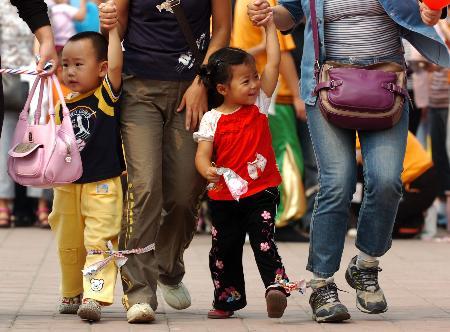 图文:未成年人思想道德建设展示活动在京举行