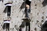 图文:古墙修缮者