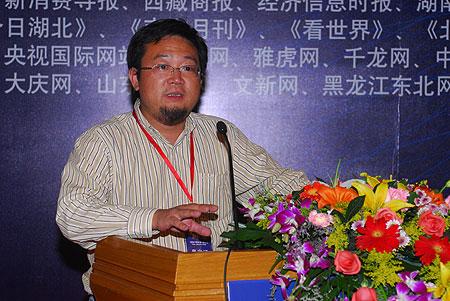 图文:浙江乡村资源开发有限公司董事长朱为民
