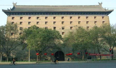 图文:西安古城墙东门