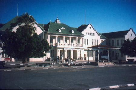纳米比亚首都温得和克(组图)