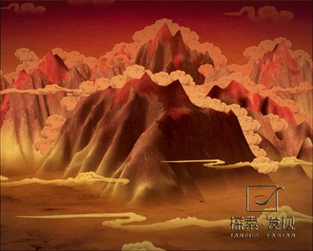 图文:《大唐西游记》手绘图