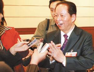 图文:肖扬称司法公正离不开媒体监督