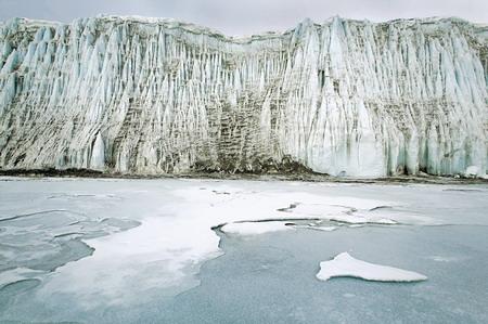图文:南极地区的干谷