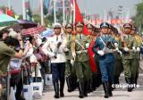 组图:驻港部队五一期间开放军营供市民参观