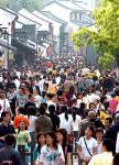 图文:游客在浙江绍兴鲁迅故里游览