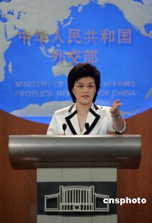 外交部:无居民因奥运拆迁被迫搬出北京(实录)