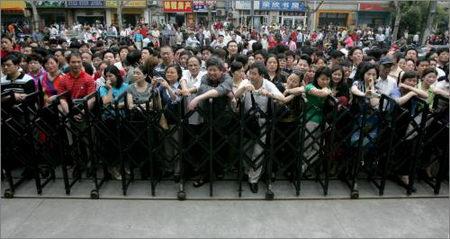 图文:上海十万高考生赴考
