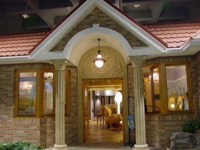 有的轻钢结构别墅造价在每平米4000多元人民币.   来源:人民网