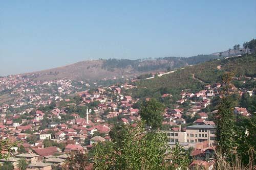如今萨拉热窝已成为一座美丽山城