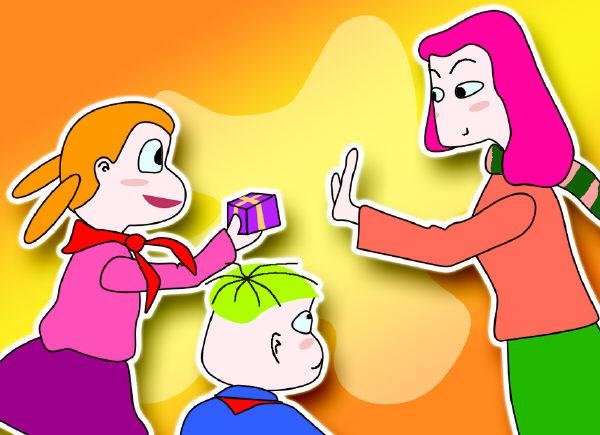 """学校拒收礼决非想作秀 朝城路小学:家长用礼品为孩子换""""机会""""的观念让图片"""
