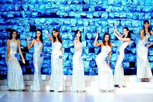 组图:新丝路世界模特大赛决赛——数码美女