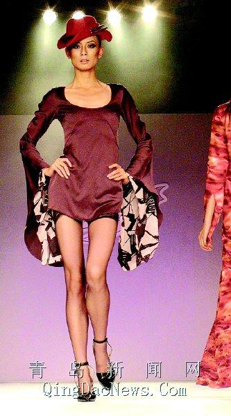 法国服装设计师搅热香格里拉 阿姆斯莱昨夜耀秀场(组图)