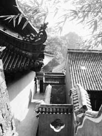 天台山国清寺(江山胜迹)(组图)