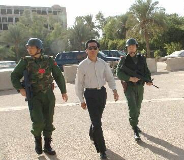 新闻人物:我新任驻伊拉克大使杨洪林临危受命(组图)
