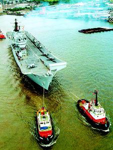 英国海军未来航母计划抵达重大里程碑(组图)