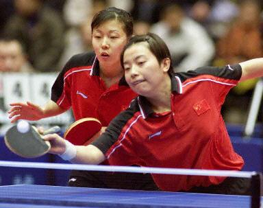 杨影娱乐圈初体验 乒乓小子 中出演女一号